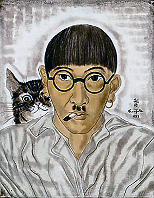 明日!は、本物を見たかった!ーー藤田 嗣治 作品展!に、行くぞ~!ーーハハハーー。_d0060693_7503829.jpg