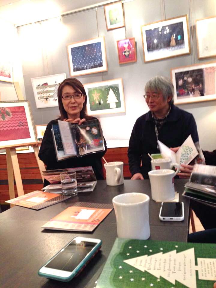 """2014/12/11〜18 douxpapier \"""" X\'mas Book Exihibition\"""" at CAFEST_f0172313_02365088.jpg"""