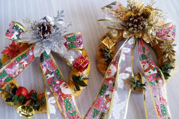 【セレブが香る クリスマスリースパンを作りました♪】「pure-gardenさん」の紅茶モニターです♪_b0033423_15481123.jpg