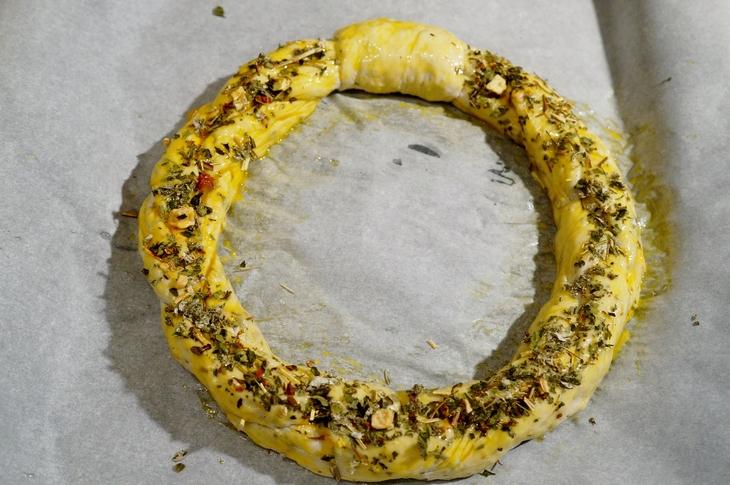【セレブが香る クリスマスリースパンを作りました♪】「pure-gardenさん」の紅茶モニターです♪_b0033423_17183413.jpg