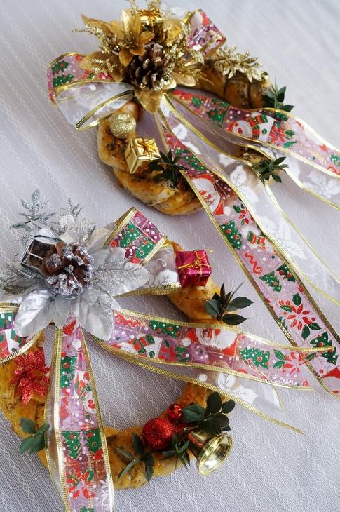 【セレブが香る クリスマスリースパンを作りました♪】「pure-gardenさん」の紅茶モニターです♪_b0033423_17585345.jpg