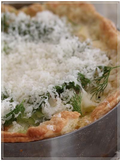 長ネギと牡蠣のキッシュ レシピ付_c0141025_15131553.jpg