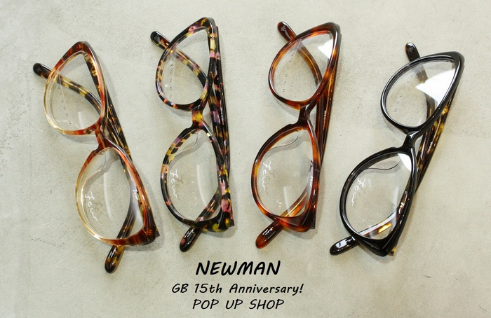 「Few by NEWMAN JOANNNE  from GB 15th Anniversary!POP UP SHOP」_f0208675_16302399.jpg