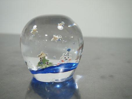 高城加世子さんのペーパーウエイト、クリスマス_b0322280_2084436.jpg