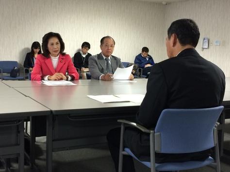 地位協定改定 社大党が要求 沖縄担当大使に抗議_f0150886_1822167.jpg