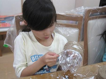 松井山手教室 ~ランタン作り~_f0215199_1651973.jpg