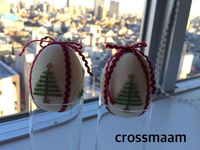 クリスマスエッグオーナメント_c0195603_22165460.jpg