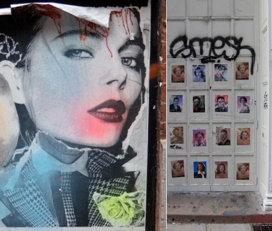SOHOにステッカー、ポスター、チョークの街角アート増加中_b0007805_2274460.jpg