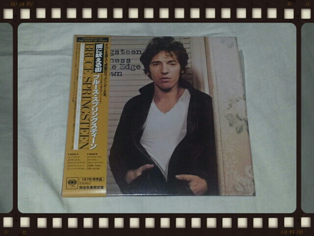 BRUCE SPRINGSTEEN / DARKNESS ON THE EDGE OF TOWN闇に吠える街 紙ジャケ_b0042308_7351264.jpg