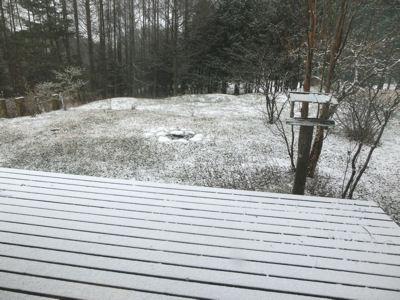 今シーズン初の積雪です_f0019247_2058838.jpg