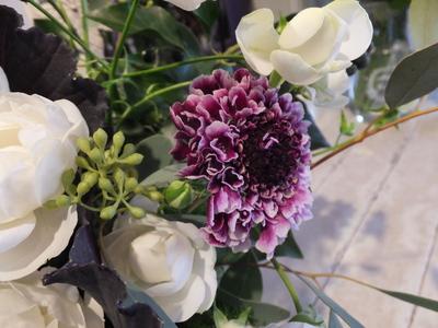 オークリーフ花の教室(根本さんの作品)_f0049672_17113351.jpg