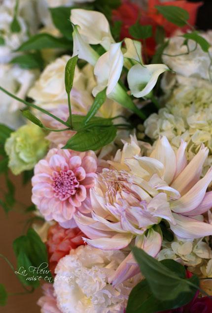料亭ウエディングの花飾り_f0127281_1450055.jpg