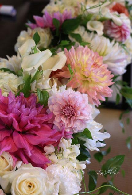 料亭ウエディングの花飾り_f0127281_14504222.jpg