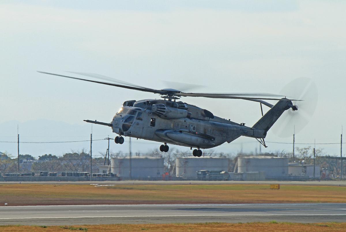 アメリカ海兵隊ヘリコプター。_b0044115_8261430.jpg