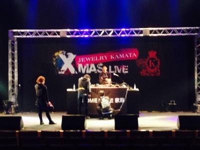 JEWELRY KAMATA X MAS LIVE。_f0182998_21361998.jpg