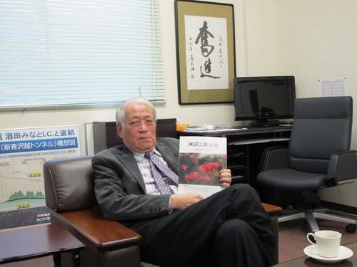 山形エスシーエス株式会社、高橋秀也代表取締役社長を訪問_c0075701_2322594.jpg