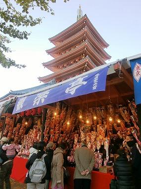 浅草寺「羽子板市」(江戸の祭り)_c0187004_18135290.jpg