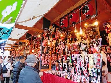 浅草寺「羽子板市」(江戸の祭り)_c0187004_18142234.jpg