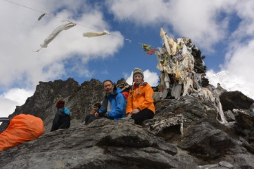 """2014年10月 『エヴェレスト・三峠越えトレッキング』 October 2014 \""""Three Pass Crossing in Everest\"""" _c0219616_2059231.jpg"""
