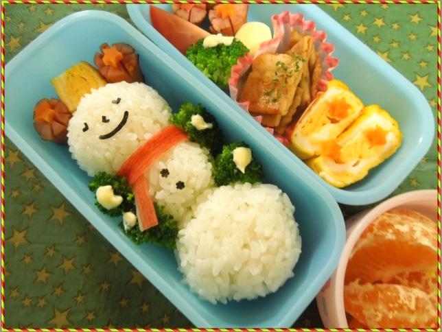 「IEbiyori」mkさん&みんなのクリスマス弁当もキュート!_f0357923_14383170.jpg