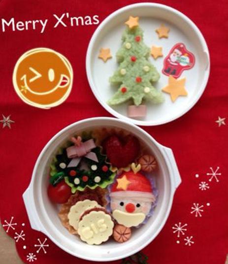 「IEbiyori」mkさん&みんなのクリスマス弁当もキュート!_f0357923_1532562.jpg
