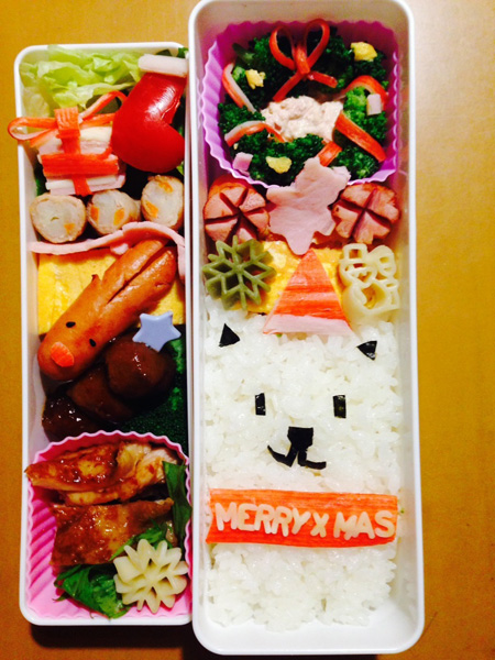 「IEbiyori」mkさん&みんなのクリスマス弁当もキュート!_f0357923_15472252.jpg