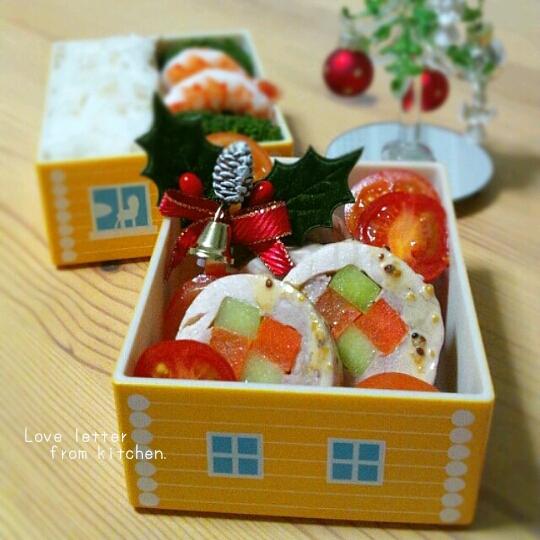 「IEbiyori」mkさん&みんなのクリスマス弁当もキュート!_f0357923_18155192.jpg