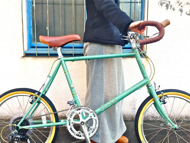 2015 BRUNO MINIVELO 20 ROAD ブルーノ ミニベロ おしゃれ 女子 自転車_b0212032_22553417.jpg