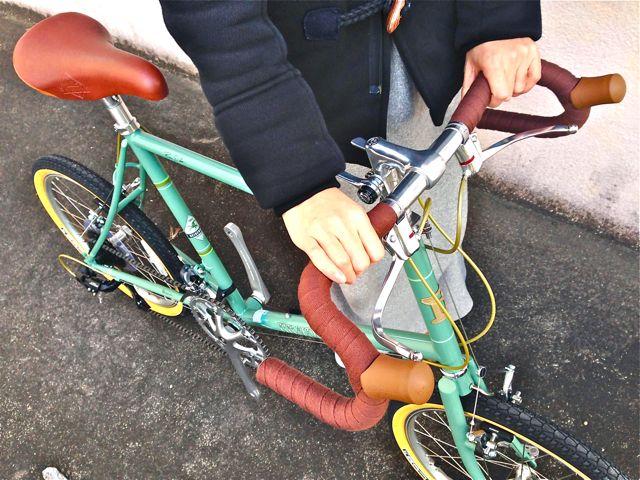 2015 BRUNO MINIVELO 20 ROAD ブルーノ ミニベロ おしゃれ 女子 自転車_b0212032_22555285.jpg