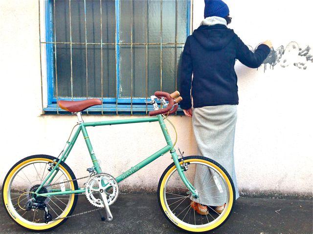 2015 BRUNO MINIVELO 20 ROAD ブルーノ ミニベロ おしゃれ 女子 自転車_b0212032_2324351.jpg