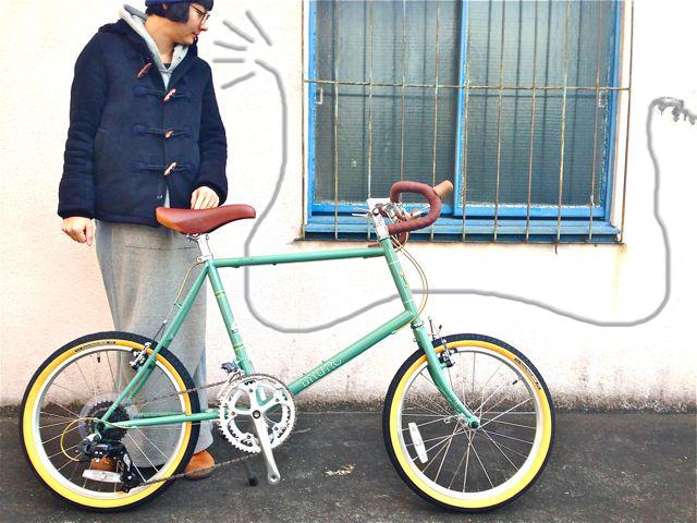 2015 BRUNO MINIVELO 20 ROAD ブルーノ ミニベロ おしゃれ 女子 自転車_b0212032_2325517.jpg