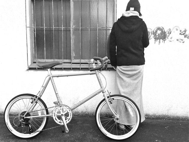 2015 BRUNO MINIVELO 20 ROAD ブルーノ ミニベロ おしゃれ 女子 自転車_b0212032_2361615.jpg