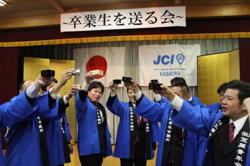 12月通常総会例 卒業生を送る会_c0324041_12324259.jpg