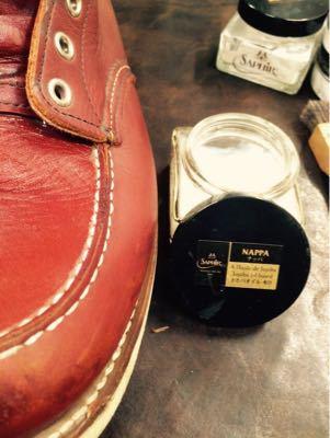 REDWING レッドウイング  靴磨き シューケア シューシャイン その3_b0310556_18262280.jpg