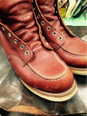 REDWING レッドウイング  靴磨き シューケア シューシャイン その3_b0310556_18262410.jpg