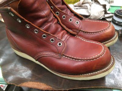 REDWING レッドウイング  靴磨き シューケア シューシャイン その3_b0310556_18262534.jpg