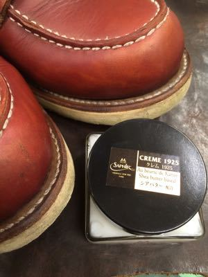 REDWING レッドウイング  靴磨き シューケア シューシャイン その3_b0310556_18262717.jpg