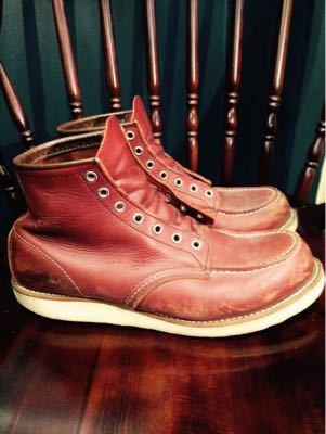 REDWING レッドウイング  靴磨き シューケア シューシャイン その3_b0310556_18262766.jpg
