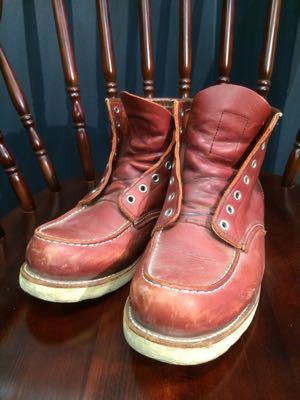 REDWING レッドウイング  靴磨き シューケア シューシャイン その3_b0310556_18262895.jpg
