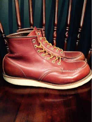 REDWING レッドウイング  靴磨き シューケア シューシャイン その3_b0310556_18262980.jpg