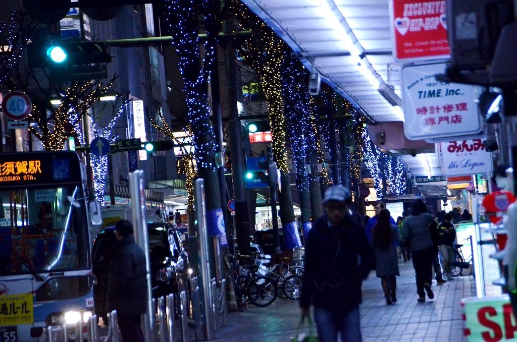 横須賀 クリスマス風景・・・だよ。_d0065116_23444370.jpg