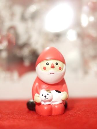 【ゆきねこ雑貨店】デコレDECOLE子猫とまったりサンタクロース。_a0143140_0303251.jpg