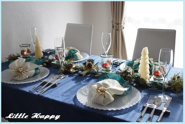 クリスマステーブルコーディネート2014_d0269651_08345642.jpg
