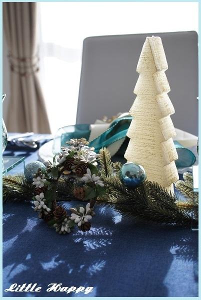 クリスマステーブルコーディネート2014_d0269651_09145757.jpg