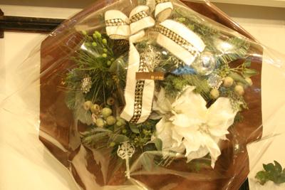 クリスマスリース☆_e0149863_15034346.jpg
