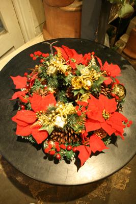 クリスマスリース☆_e0149863_15040596.jpg