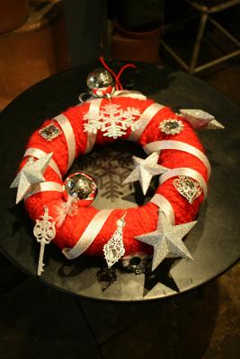 クリスマスリース☆_e0149863_15044773.jpg