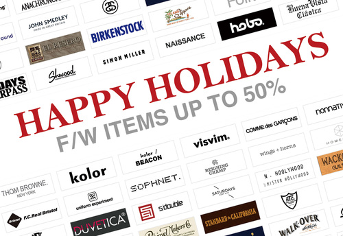 HAPPY HOLIDAY GIFT Selection - By UNDERPASS!!_c0079892_11222172.jpg