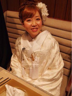 美香さんのウエディング_c0195496_1539423.jpg