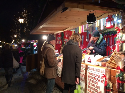 カールヨハン通りのクリスマスマーケット_a0229904_19237100.jpg